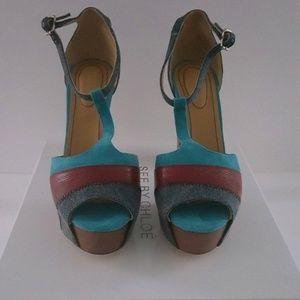 See by Chloe Village Platform Sandal